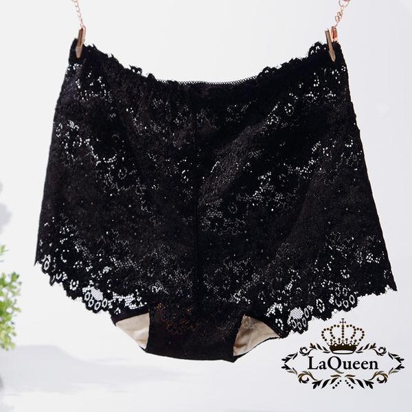 LaQueen 優雅柔軟親膚100%蠶絲褲(1803 黑)
