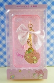 【震撼精品百貨】My Melody 美樂蒂~iPhone4手機殼-粉草莓
