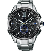 SEIKO 精工 Brightz 135週年限量鈦計時太陽能電波腕錶 8B92-0AS0D(SAGA225J)