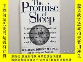 二手書博民逛書店The罕見Promise of Sleep: A Pioneer