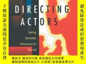 二手書博民逛書店Directing罕見ActorsY307751 Judith Weston Michael Wiese Pr