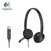 [富廉網] 羅技 Logitech H340 USB 耳機麥克風