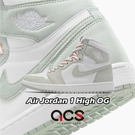 Nike 休閒鞋 Air Jordan 1 High OG SEAFOAM 鼠尾草 女鞋 AJ1 【ACS】 CD0461-002