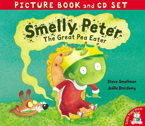 【麥克書店】SMELLY PETER: THE GREAT PEA EATER /英文故事繪本+CD