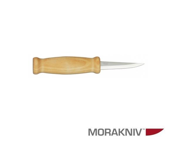 丹大戶外用品【MORAKNIV】瑞典WOOD CARVING 105 層壓鋼經典木雕刀 原木色 106-1650