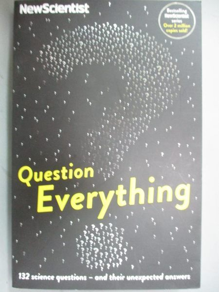 【書寶二手書T5/科學_ICP】Question Everything _New Scientist