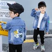 童裝男童牛仔外套2020春秋新款寶寶洋氣帥兒童小孩牛仔衣韓版潮流 Korea時尚記