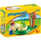 playmobil 123series 女孩與恐龍蛋_PM09121