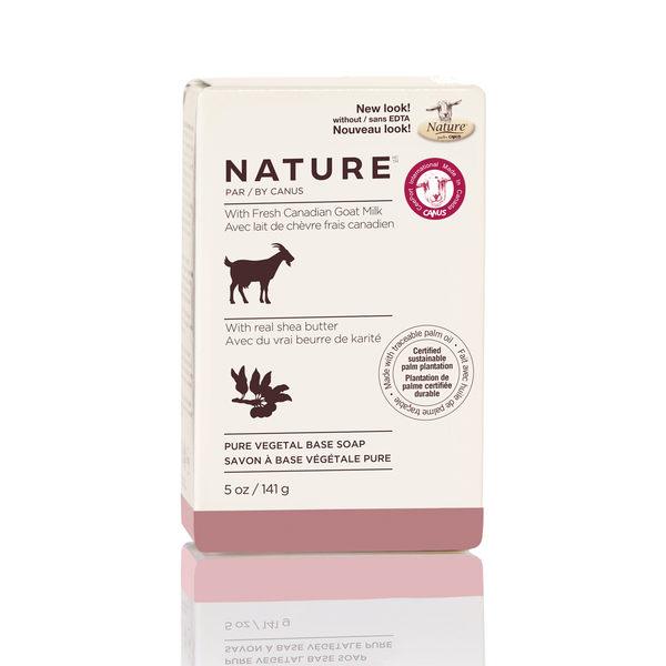 加拿大 CANUS 天然新鮮山羊奶回春滋養皂-乳油木香味-141g