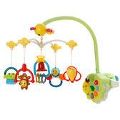 夜燈遙控3-6-12個月嬰兒音樂旋轉床鈴床頭搖鈴0-1歲新生嬰兒玩具【萬聖節88折