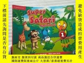 二手書博民逛書店Super罕見Safari Pupil s Book 1【含光盤一張 內頁幹凈】大16開Y10893 Supe