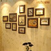 相框牆 家居飾品 沙發照片墻 歐式環保相框創意組合 復古相片墻創意 igo摩可美家
