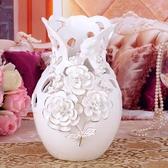 歐式花瓶 陶瓷花瓶客廳擺件電視柜家用家居裝飾品插花