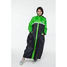 【東門城】Arai 佐海 W022 雙色全開式雨衣 (黑綠)