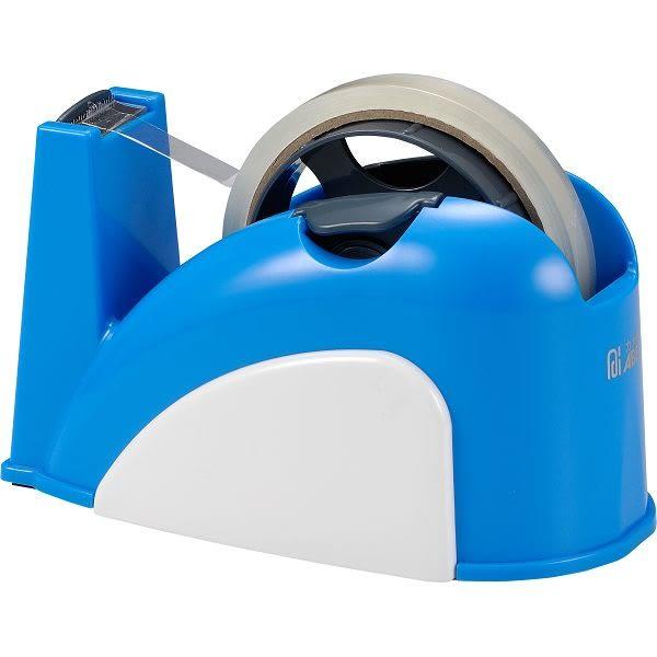 ※亮點OA文具館※ 力大 ABEL 膠帶台 TD130 小巧鯨安全專利膠帶台 (不含膠帶)