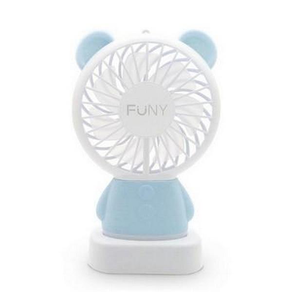 USB充電涼風扇-熊