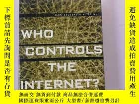 二手書博民逛書店Who罕見Controls the Internet?: Ill