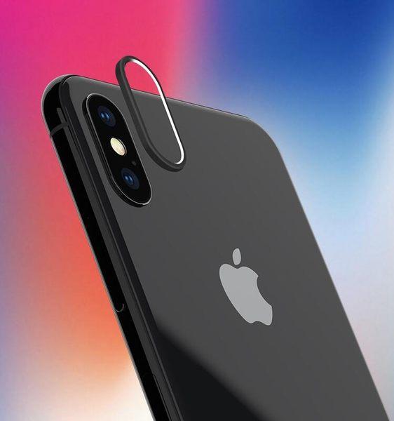 【SZ33】iPhone X 鏡頭圈 iPhone X後背攝像頭保護套 手機鏡頭防摔 防刮