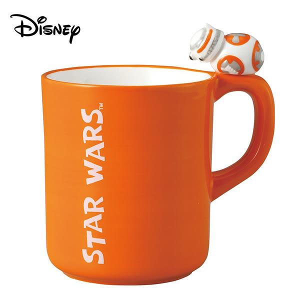 【日本正版】星際大戰 BB-8 陶瓷 馬克杯 250ml 咖啡杯 STAR WARS 迪士尼 Disney - 245124