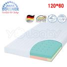 德國 Julius Zoellner 3 Air 嬰兒床墊120x60cm -送 澳洲NVEY嬰兒沐浴乳250ml+天絲床包x1