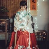 鐘靈記【鳳來儀】交領襖裙漢服女琵琶袖非古裝春秋冬裝改良馬面裙