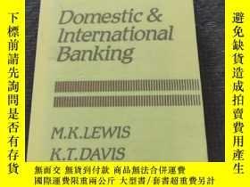 二手書博民逛書店Domestic&International罕見Banking