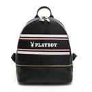 PLAYBOY- 後背包 美學系列 -黑色