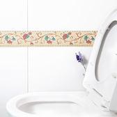 ♚MY COLOR♚家居PVC防水自黏貼紙 廚房 浴室 踢腳線 腰線 貼紙 磁磚 裝飾 防髒 乾淨【S43-1】