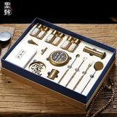 墨臻仿古香篆純銅打造三足香爐套裝EY1587『東京衣社』