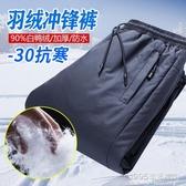 戶外衝鋒褲男女冬季加絨加厚防風防水保暖登山雪鄉滑雪羽絨褲外穿 1995生活雜貨
