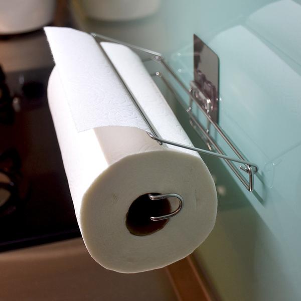 廚房紙巾架 304不鏽鋼無痕掛勾 易立家生活館 壁掛式紙巾放置架 餐巾紙架 好市多可用