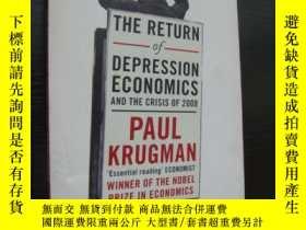 二手書博民逛書店The罕見return of Depression Econom