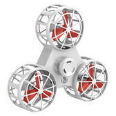 飛行指尖陀螺手指回旋飛行器指間飛機懸空會飛減壓玩具自電動旋轉  百搭潮品