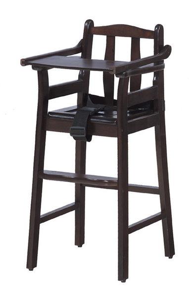 【 IS空間美學】寶寶椅(胡桃色/板底)