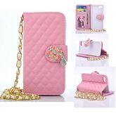 山茶花水鑽手機皮套 SAMSUNG  GALAXY Note5/Note4/Note3手機套 手機殼   手機保護套