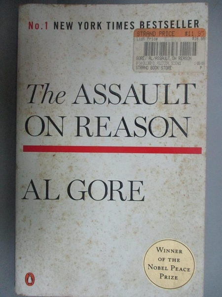 【書寶二手書T4/原文書_LMM】The Assault on Reason_Gore, Albert