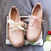 聖誕享好禮 單鞋女秋冬溫柔軟妹娃娃小皮鞋日系洛麗塔學生鞋仙女鞋子復古加絨