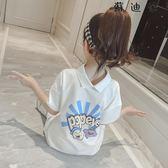 女童長款t恤短袖童裝上衣t女 SDN-4033