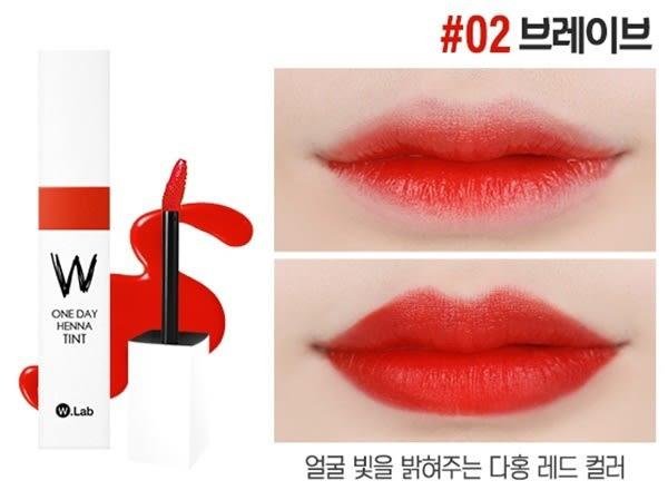 韓國 W.lab 小姐好辣 染唇液 不掉色染唇液 Henatint w.lab 正品驗證