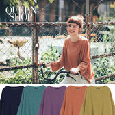 Queen Shop【01012185】多色基本百搭針織圓領上衣 五色售*預購*