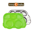 Innobaby 不銹鋼兒童餐具 巴士餐盤 Din Din SMART™ (綠色)