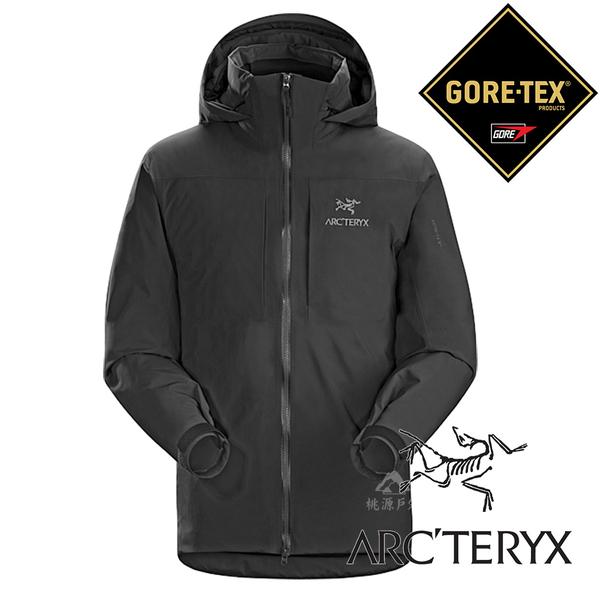 【Arc'teryx 始祖鳥】男 單件式GORE-TEX化纖保暖外套 (內裡:CORELOFT)『黑』L06927