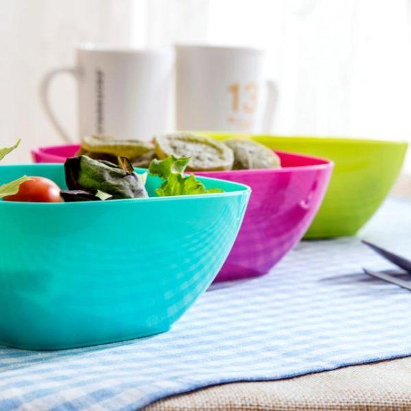 [超豐國際]塑料方形果盤零食盤子水果盤家用客廳茶幾簡約糖果盤瓜子盤