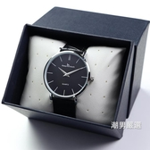 超薄男士手錶皮帶男學生正韓簡約時尚潮流男錶防水石英錶腕錶