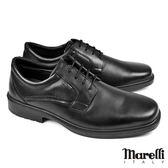 【marelli】Casual核心氣墊德比紳士鞋 黑色(40218-BL)