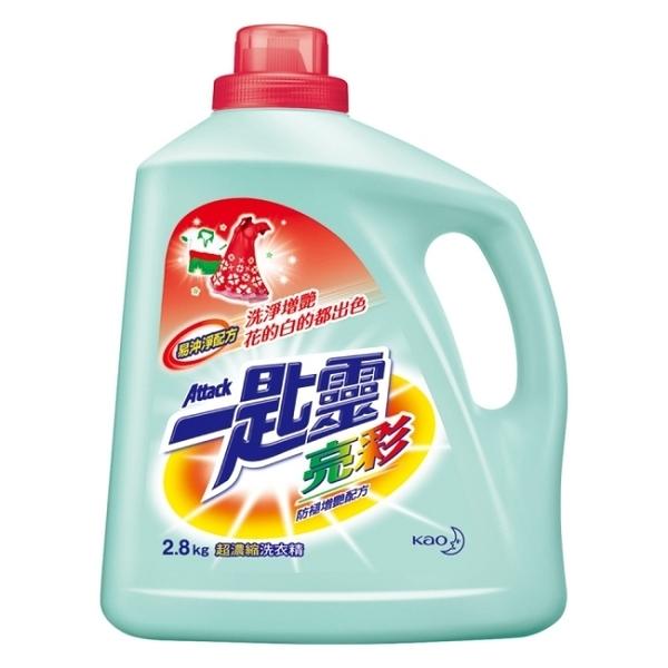 【一匙靈】 亮彩超濃縮洗衣精2.8kg x4入/箱購-箱購
