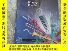 二手書博民逛書店英皇考級罕見新版鋼琴預備級 鋼琴預備測試 Piano Prep