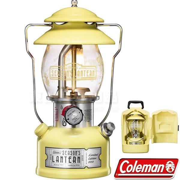 Coleman CM-32845_2018年 日本限量紀念款氣化燈 公司貨汽化燈/照明燈/美式復古燈/露營燈