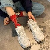 老爹鞋女ins潮2019秋冬季新款網紅單裏百搭松糕厚底休閒運動鞋女