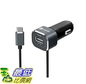 [105美國直購] 車載充電器 iClever BoostDrive 5.4A Dual Port Car Charger SmartID USB Port (2.4A) Built